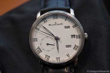 Baselworld 2016: Blancpain Годовой календарь GMT Villeret