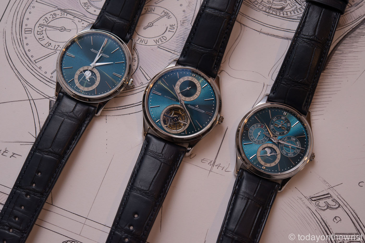 Jaeger-LeCoultre Master Ultra Thin Enamel Limited Editions