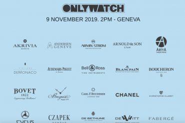 Благотворительный аукцион Only Watch 2019