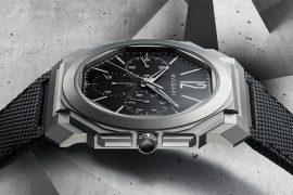 Bvlgari Octo Finissimo Chronograph GMT Titanium