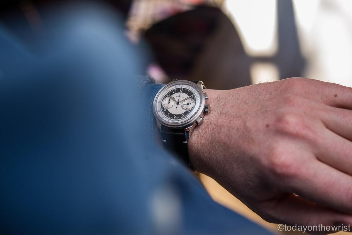 Longines Heritage Classic Chronograph Tuxedo