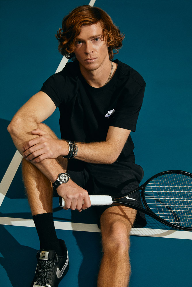 теннисист Андрей Рублев – aмбассадор Bvlgari