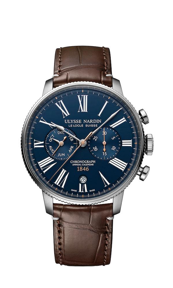 Ulysse Nardin Marine Torpilleur Annual Chronograph